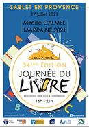 Jacques Morize à la journée du livre de Sablet-en-Provence