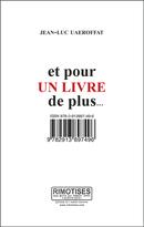 Et pour un livre de plus… - Jean-Luc Uaeroffat - Éditions AO - André Odemard